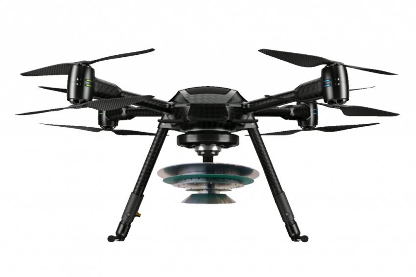TNO drone met sensor