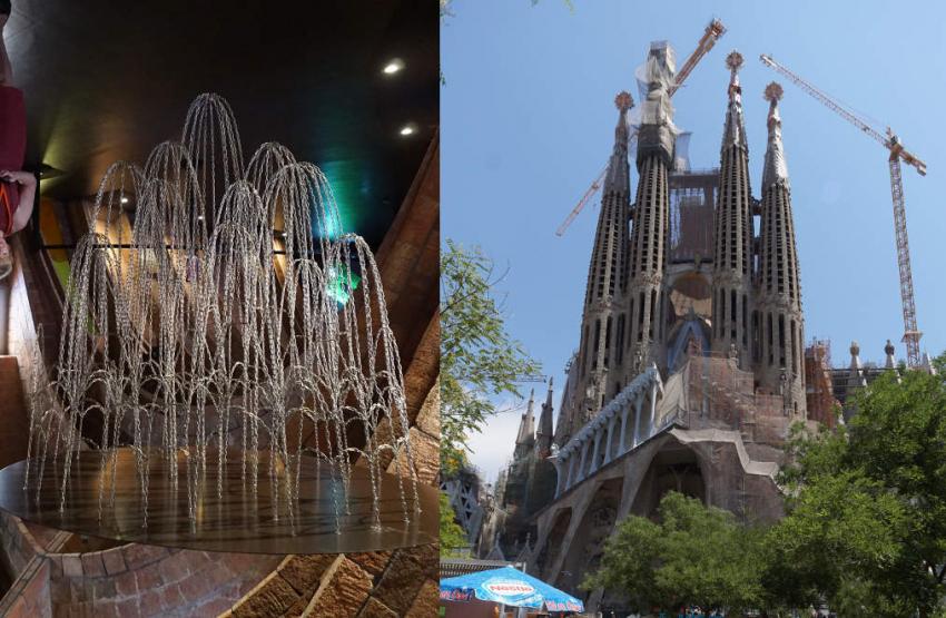 Hendriksen Gaudi kettingenmodel Sagrada