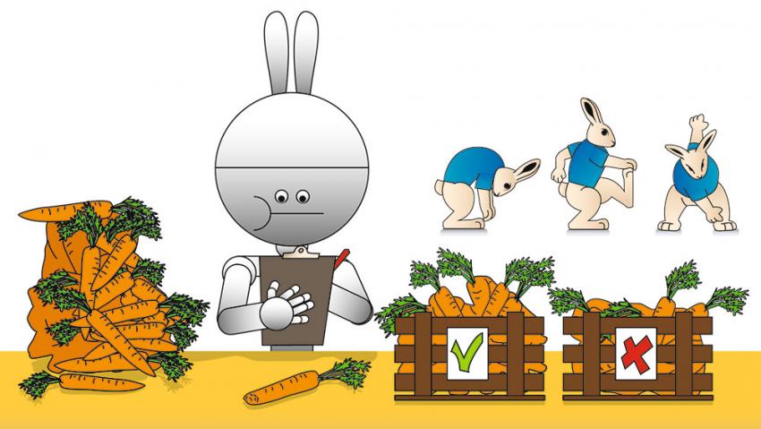 Roborabbit quality control