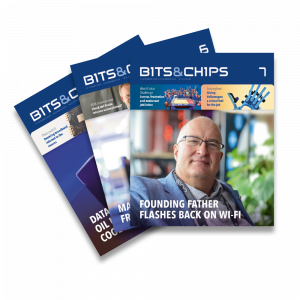 Bits&Chips magazine covers