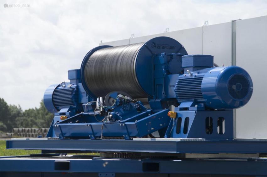 Kitepower 2100 kW ground station