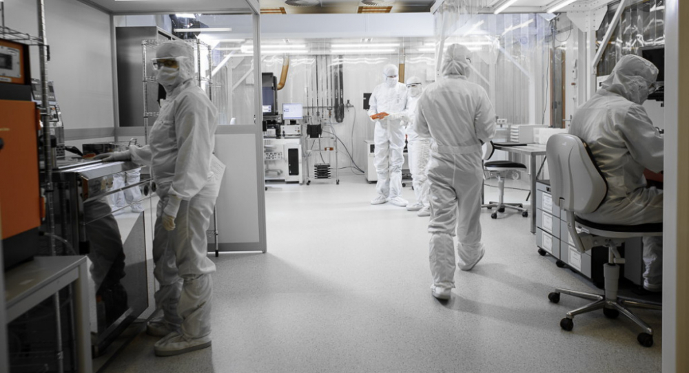Micronit cleanroom