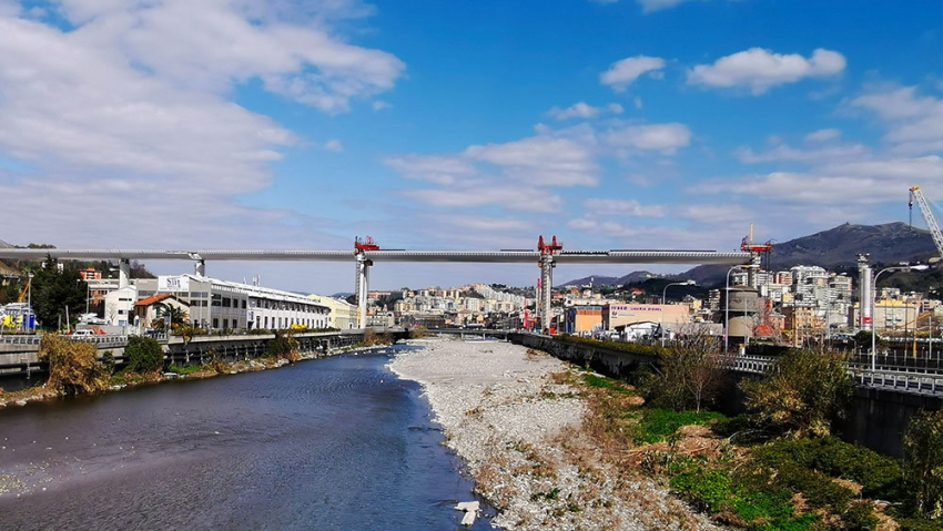 Somni new Genoa bridge