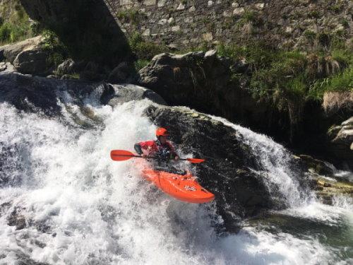 Tom Vrancken kayak