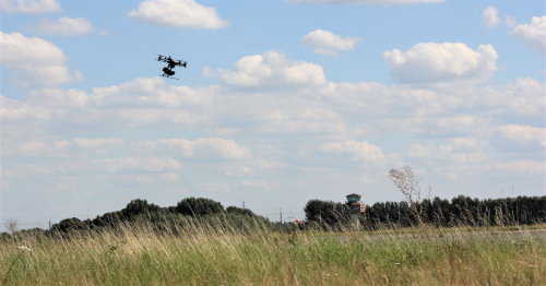 Unmanned Valley drone testing