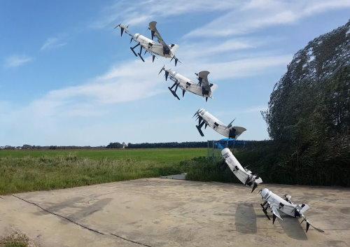 TU Delft hydrogen drone