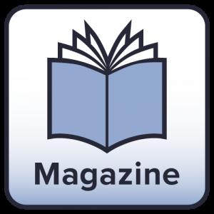 Mediakit magazine on page