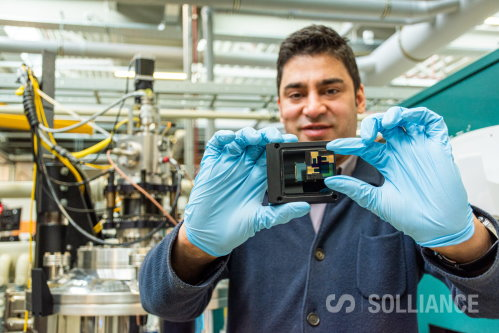 Solliance solar cell