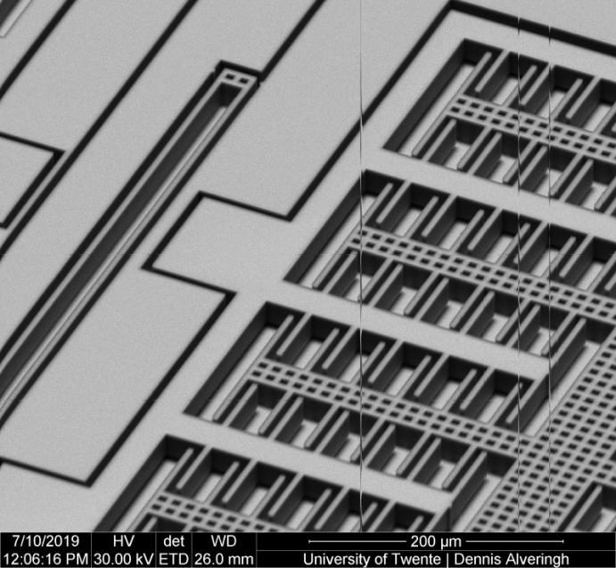 UT MEMS chip