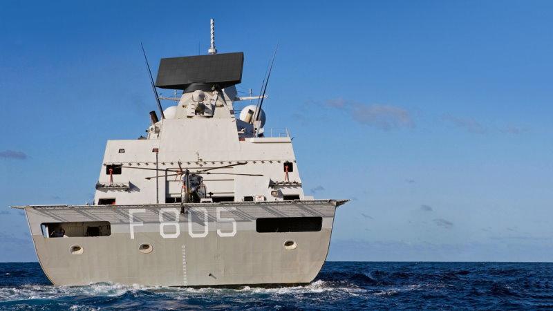 Thales Smart L on ship