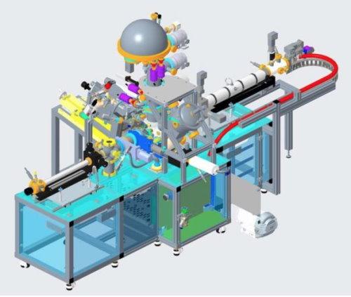UT 3 color X ray machine