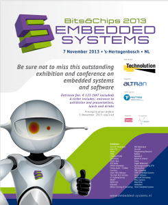 advertentie Bits&Chips embedded systemsn 2013