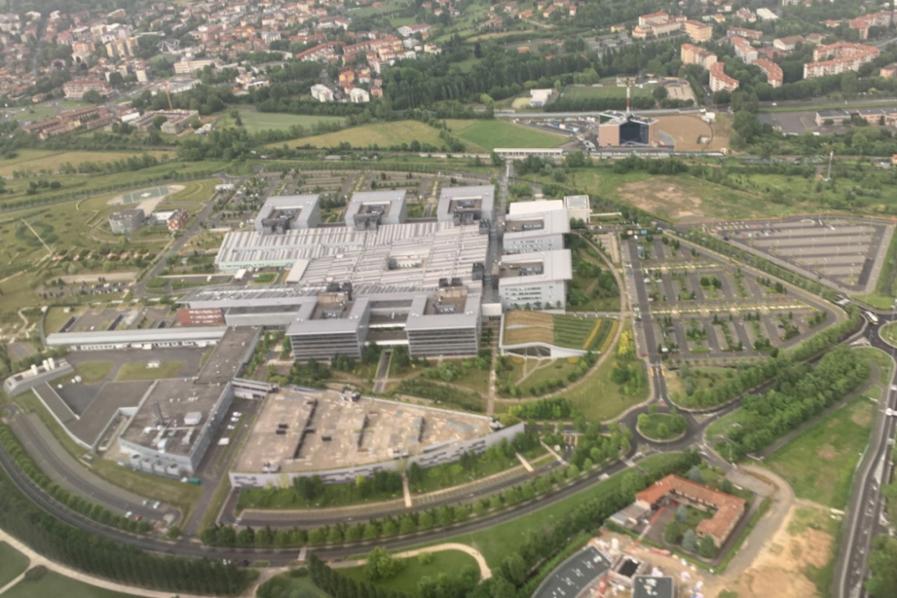 Factory from the sky