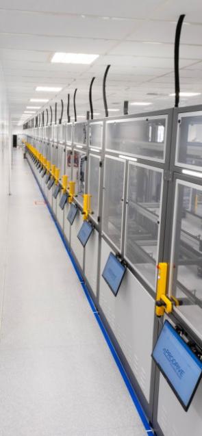Prodrive sensor automatic production cell