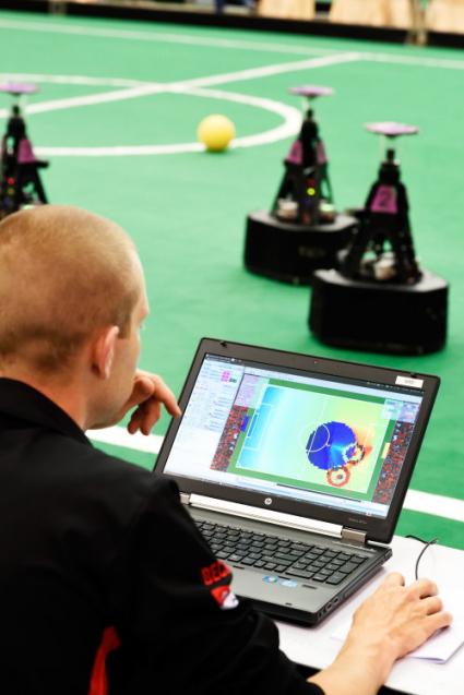 Tech United soccer robot BvOF