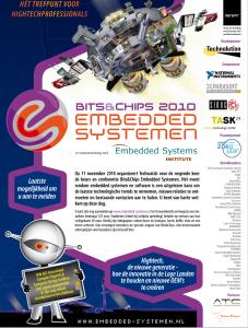 advertentie bits&Chips embedded systemen 2010