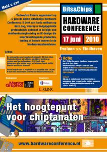 advertentie bits&Chips hardware conference 2010