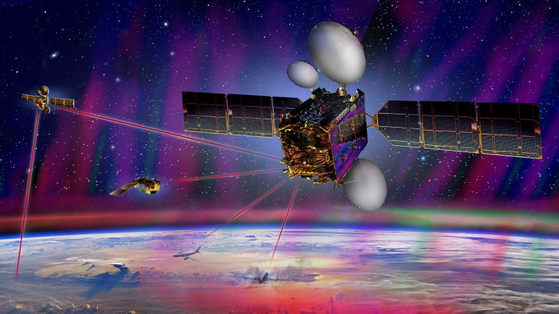 Airbus space data highway