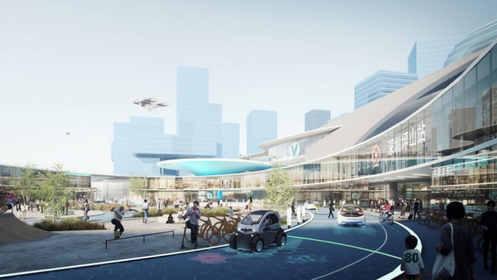 Airbus urban mobility Shenzhen